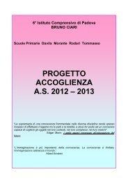 Progetto Accoglienza - 6° Istituto Comprensivo Padova
