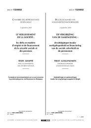 De vergrijzing van de samenleving.pdf - Vlaamse Ouderenraad