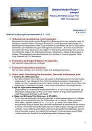 Referat fra afdelingsbestyrelsesmøde d. 1.3.2013 med ... - Domea