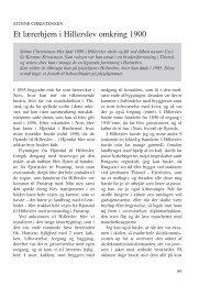 Christensen, Stinne: Et lærerhjem i Hillerslev ... - Thisted Museum
