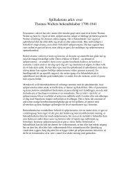 Spillederens arkiv over Thomas Walters bekendtskaber 1798-1841