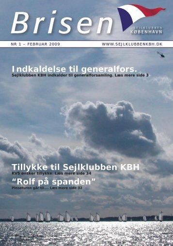 """Indkaldelse til generalfors. Tillykke til Sejlklubben KBH """"Rolf på ..."""