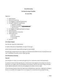 Side 1 Generalforsamling Grundejerforeningen Stangkjær 25. marts ...