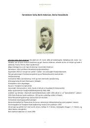 Førstelærer Sofus Bork Andersen, Dame Hovedskole