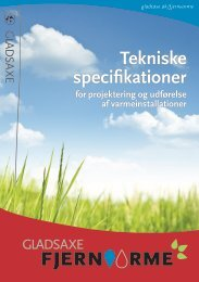 Gladsaxe Fjernvarme Tekniske Specifikationer