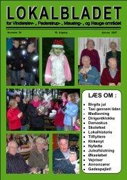 januar 2007 - Lokalbladet - For Vinderslev-, Pederstrup-, Mausing