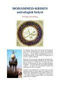 MOHAMMED-KRISEN ASTROLOGISK BELYST - Visdomsnettet - Page 3