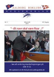 maj/juni 2010 - Aalborg Roklub