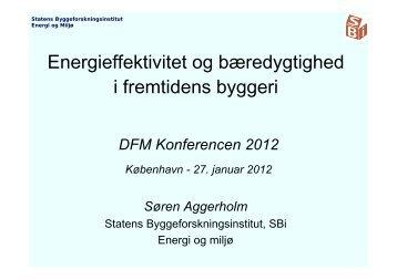 Energieffektivitet og bæredygtighed i fremtidens byggeri