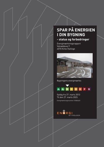 SPAR PÅ ENERGIEN I DIN BYGNING - status og ... - myestate.dk