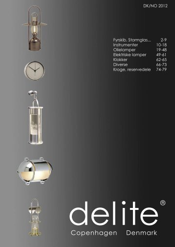 Delite 2012 catalogue - Delite ApS