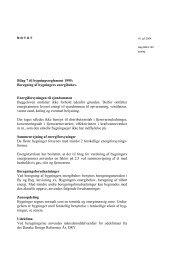 Bilag 7 til bygningsreglement 1995: Beregning af bygningers ...