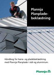 Håndbog for Plannja Planpladebeklædning juli 2012