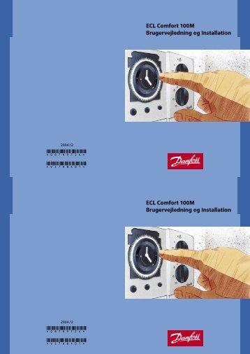 ECL Comfort 100M Brugervejledning og ... - Danfoss Varme