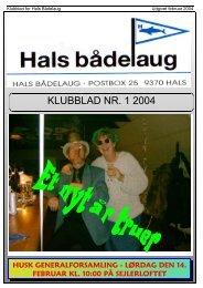 2004-1 - Hals bådelaug
