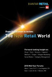 The New Retail World The New Retail World - Kantar Retail iQ