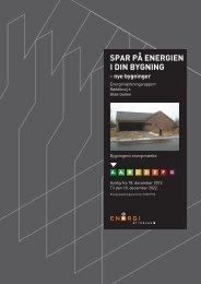 SPAR PÅ ENERGIEN I DIN BYGNING - Murermester Finn Nielsen