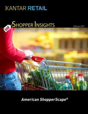 SHOPPER INSIGHTS - Kantar Retail iQ