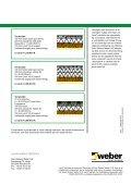 Fundamenter og terrændæk til - Weber - Page 4