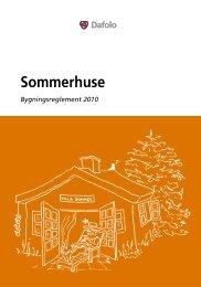 Sommerhuse - Byggepjecer