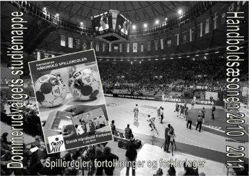 Studiemappen - Dansk Håndbold Forbund