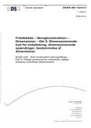 EN ISO 12215-5 - Dansk Standard