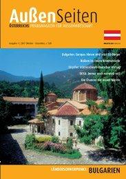 BULGARIEN - Kitzler Verlag