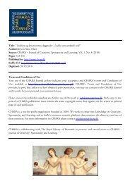 pdf article - Rytmisk Musikkonservatorium