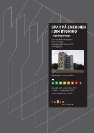 SPAR PÅ ENERGIEN I DIN BYGNING - dai arkitekter ingeniører