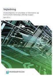 Vejledning til IKT-bekendtgørelsen - Bygningsstyrelsen
