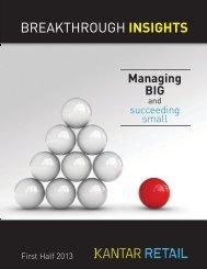 Breakthrough Insights Publication - Kantar Retail iQ