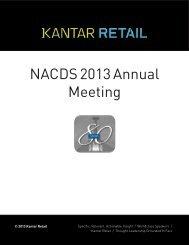 NACDS 2013 Annual Meeting - Kantar Retail iQ