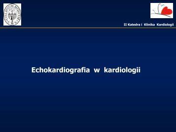 Echokardiografia w kardiologii