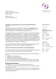 Aarhus Universitet Rektor Lauritz B. Holm-Nielsen Marianne Kjær ...