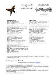Støv og Lommeuld Nr. 9 fredag d. 29/4-2011 ... - Undløse Skole