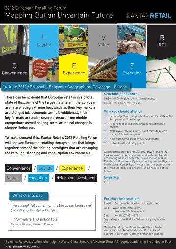 brochure - Kantar Retail