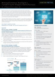 Winning eCommerce: How Digital is Transforming ... - Kantar Retail iQ