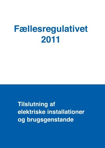 F llesregulativet 2011 - onlinePDF