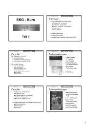 EKG - Kurs