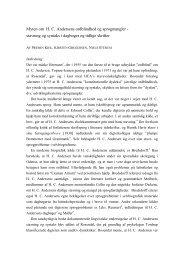 Hent 2 Myten_om_H.C.Andersen.pdf, som fylder ... - Ny Nordisk Skole