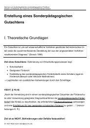 Überblick und Kriterien - Dr. Karin Reber