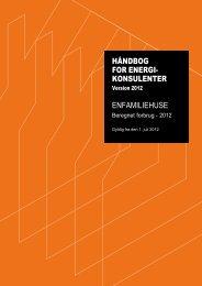 Håndbog for energikonsulenter 2012 - Dahlgaards Tegnestue