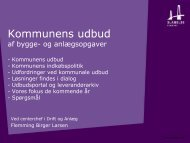 Kommunens udbudspolitik - Slagelse Kommune