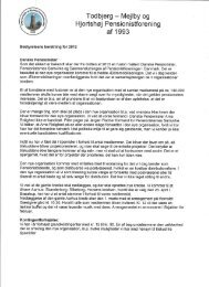 Bestyrelsens beretning 2013 - Edb Kaffestue