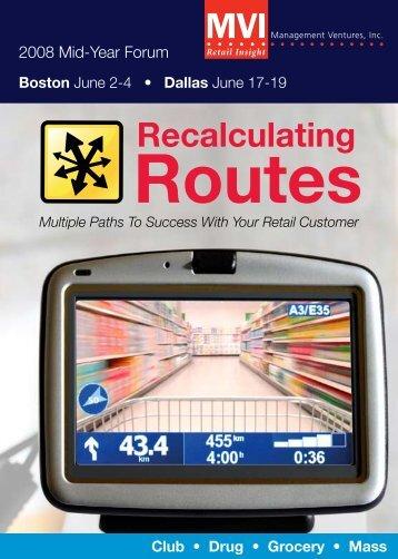 Routes - Kantar Retail iQ
