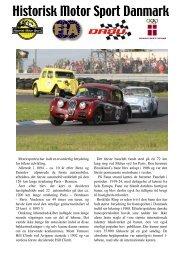 B4 - Historisk Motor Sport Danmark