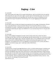 Dagbog – 2.bm