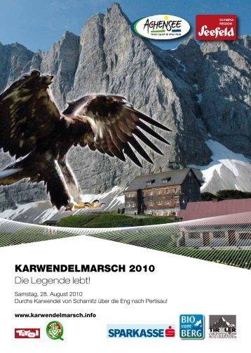 Karwendelmarsch Folder