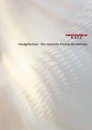Imagebroschüre - Katz-Flechtmöbel-Manufaktur