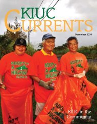 KIUC Currents - Kauai Island Utility Cooperative